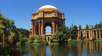 San Francisco Photo Art - Palace Of Fine Arts Poster by Art America Online Gallery