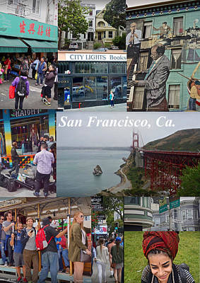 Poster featuring the photograph San Francisco Poster by Joan Reese