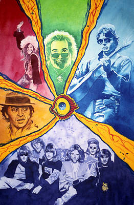San Francisco Rock Poster by Ken Meyer jr