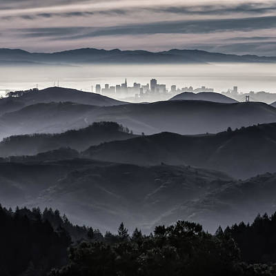 San Francisco Seen From Mt. Tamalpais Poster
