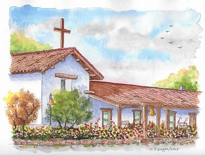 San Francisco Solano Mission, Sonoma, California Poster by Carlos G Groppa