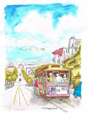 San Francisco Trolley - California Poster