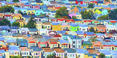 San Francisco Urban Houses 20170901 Wide V2 Poster
