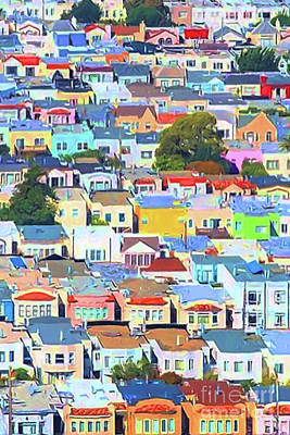 San Francisco Urban Houses 20170901 Poster