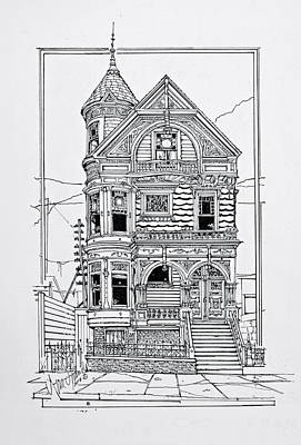 San Francisco Victorians  Poster