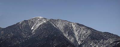 San Gabriel Mountains Poster