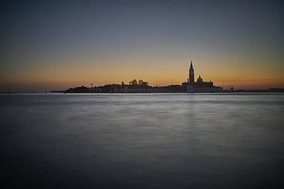 San Giorgio Sunset 0933 Poster