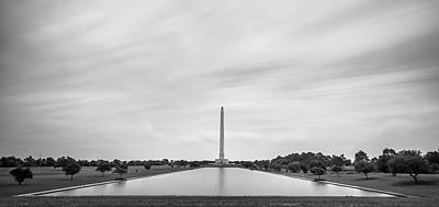 San Jacinto Monument Long Exposure Poster