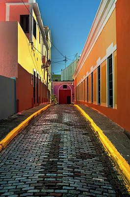 San Juan Alley Way Poster by Brad Chapman