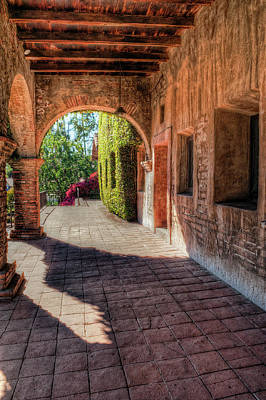 San Juan Archway Poster