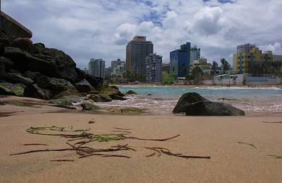 San Juan Beach Iv Poster