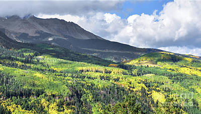 San Juan Mountains Poster by Jim Chamberlain