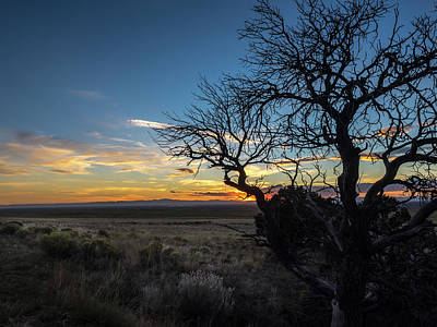 San Luis Valley Sunset - Colorado Poster