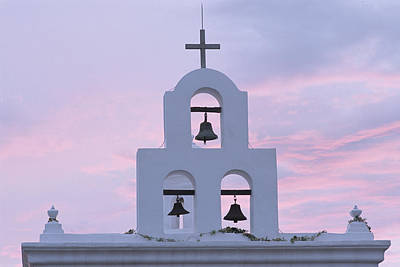 San Xavier Mission 1782, Near Tucson Poster by Phil Schermeister