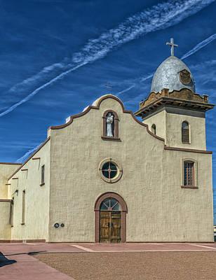 San Ysleta Mission Poster by Mountain Dreams