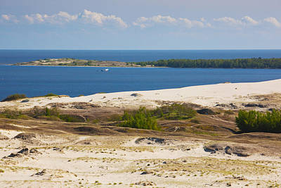 Sand Dunes At The Coast, Parnidis Dune Poster by Panoramic Images
