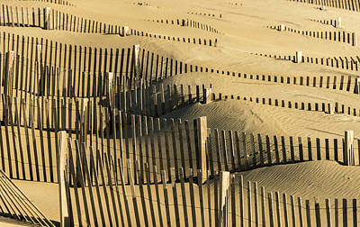 Sand Dunes Of The Outer Banks Poster