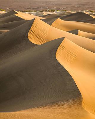 Sand Waves Poster by Thorsten Scheuermann