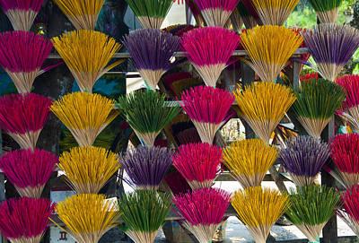 Sandalwood Incense Sticks Poster by Rob Hemphill