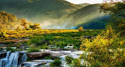 Sandstone Falls West Virginia - Paint Poster by Steve Harrington