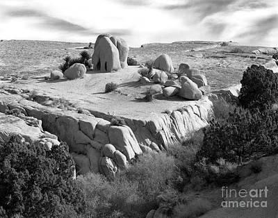 Sandstone Plateau Poster