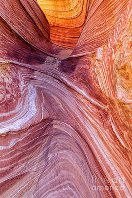 Sandstone Swirls Poster by Jerry Fornarotto