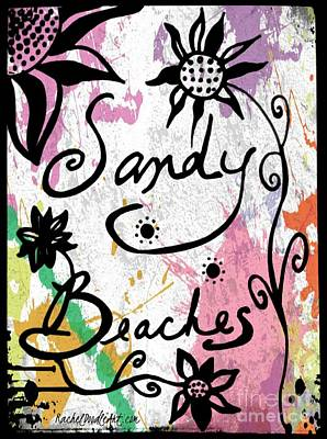Sandy Beaches Poster