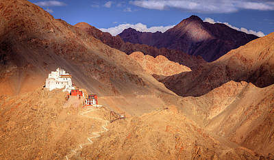 Poster featuring the photograph Sankar Monastery by Alexey Stiop
