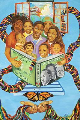 Sankofa Poster by Kenji Lauren Tanner