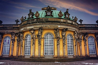 Sanssouci Palace In Potsdam Germany  Poster