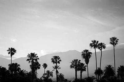 Santa Barbara I Bw Poster