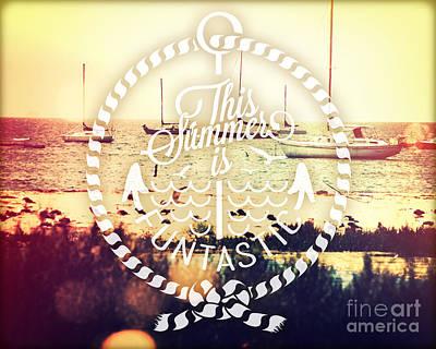 Santa Barbara View Poster