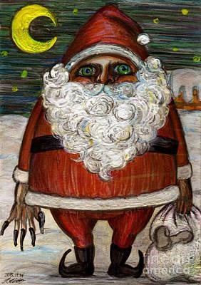 Santa Claus By Akiko Poster