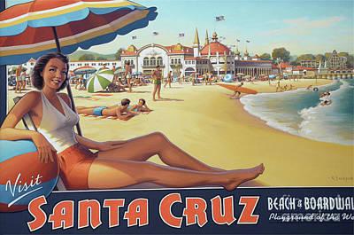 Santa Cruz For Youz Poster