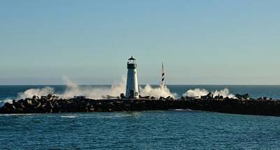 Santa Cruz Walton Lighthouse Poster