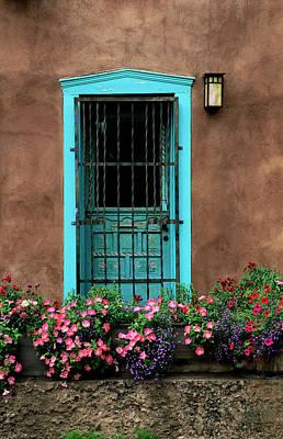 Santa Fe Door #1 Poster