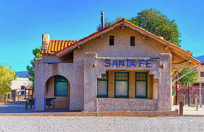 Santa Fe Station Poster by Stephen Anderson