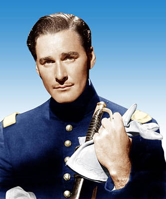 Santa Fe Trail, Errol Flynn, 1940 Poster by Everett