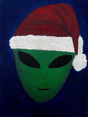 Santa Hat Poster by Lola Connelly