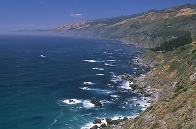 Santa Lucia Range - Highway One Poster by Soli Deo Gloria Wilderness And Wildlife Photography