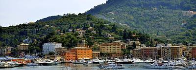 Poster featuring the photograph Santa Margherita Ligure by Corinne Rhode