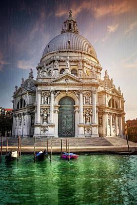 Santa Maria Della Salute - Venice  Poster