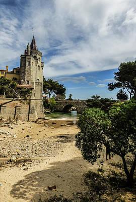 Santa Marta Beach In Cascais, Portugal Poster