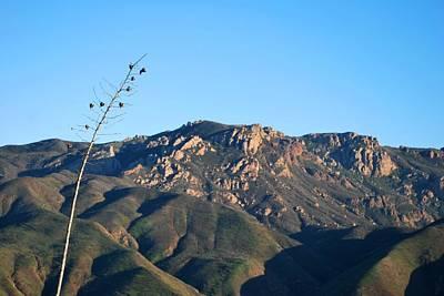 Poster featuring the photograph Santa Monica Mountains View  by Matt Harang