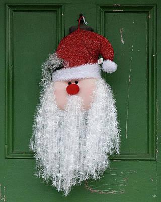 Santa On Henry Street Poster