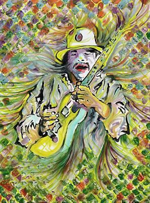 Santana's Sacred Fire Poster