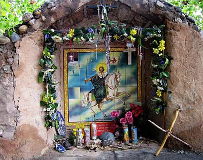 Santiago Apostel Chimayo Poster
