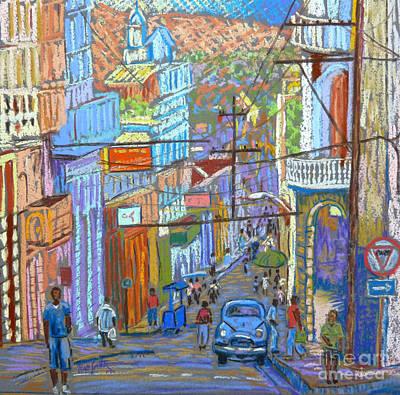 Santiago De Cuba Poster by Rae  Smith PSC