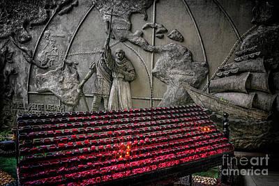Santo Nino Candles Poster