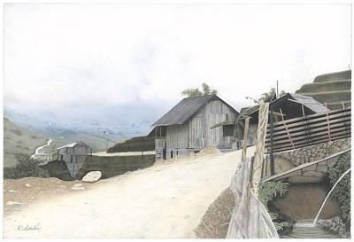 Sapa North Vietnam Poster by Wilfrid Barbier
